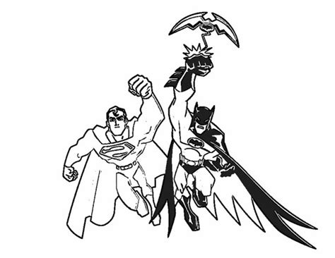 Superman And Batman Coloring Pages batman coloring pages coloring town