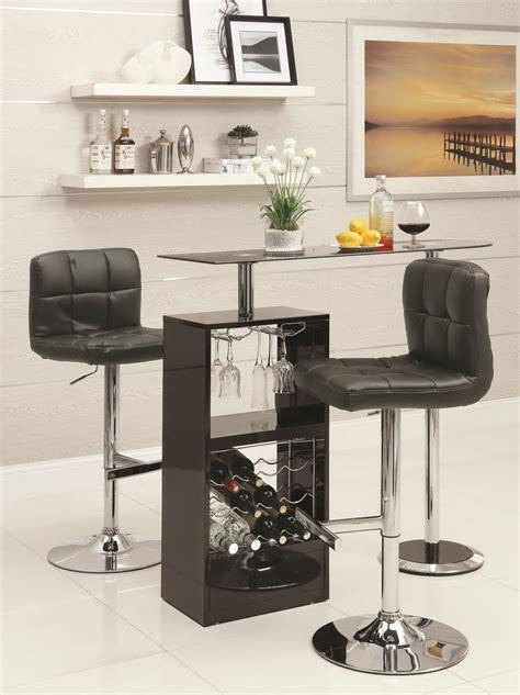 Vegas Storage Bar Table Bob Glossy Black Bar Table Set Las Vegas Furniture Store Modern Home Furniture Cornerstone
