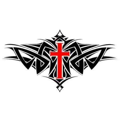 tribal cross tattoos meanings tribal cross designs and meanings www pixshark