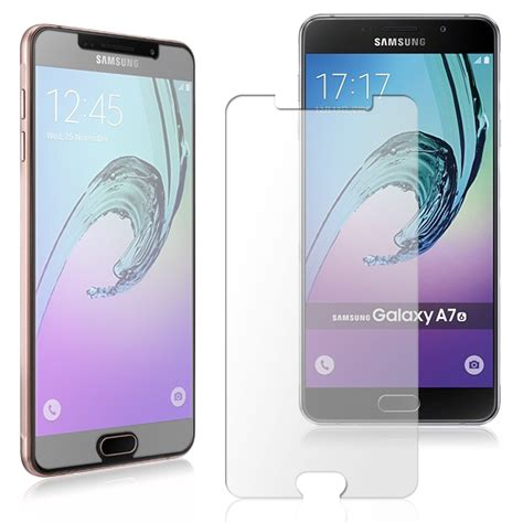 Hikaru Tempered Glass Samsung Galaxy A710 A7 2016 Fullset samsung galaxy a7 a710 2016 echt glas folie displayglas