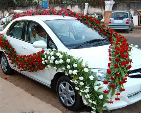 FLOWER DECORATION FOR CARS, Mobile No.:8148578779 by