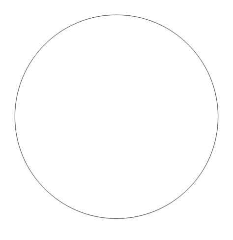 six inch circle template free printable circle templates large and small stencils
