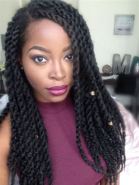 long marley twist styles msnaturallymary marley twists natural hair pinterest