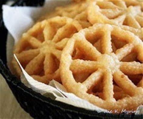 teks prosedur membuat kembang goyang cara membuat kue kembang goyang tradisional