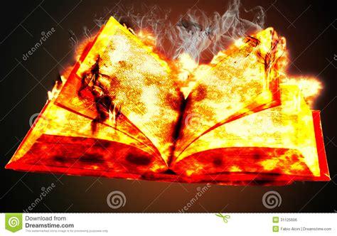 le livre des feux 226406675x livre sur le feu photo stock image du papier flammes