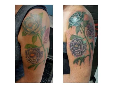 watercolor tattoos before and after 1000 images about cover up tattoos on cover