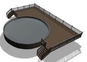 flagstone sted concrete patio decks for pools