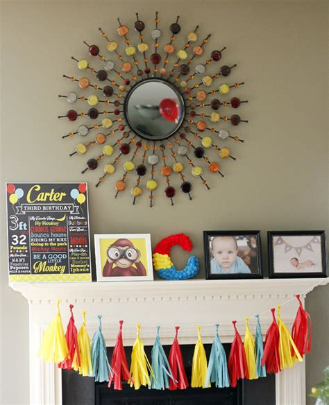 Curious George Decorations by Curious George Birthday Pretty