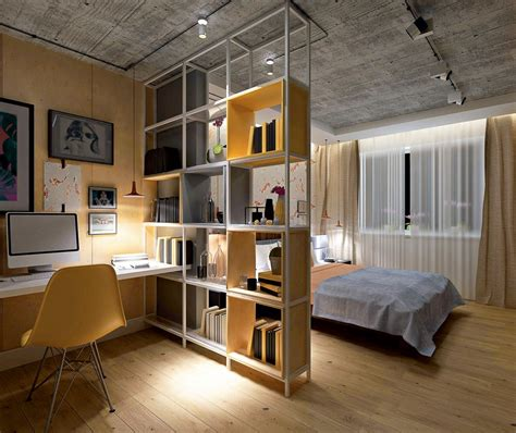 open shelves in bedroom no blind walls 20 creative room dividers p 2 home interior design kitchen and