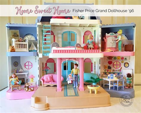 fisher price doll houses it s written on the wall how i was able to successfully
