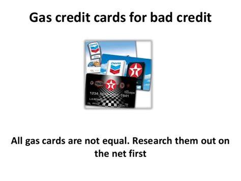 bad credit gas cards gas credit cards for bad credit and credit repair
