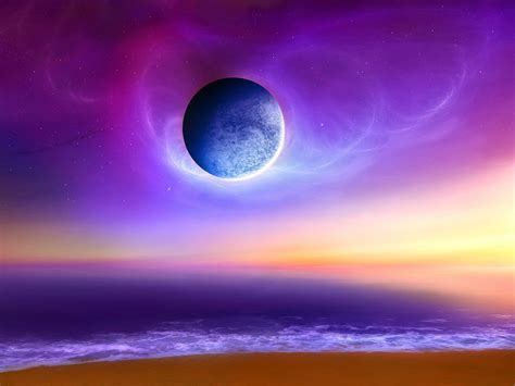 colorful moon wallpaper top world pic fantasy wallpapers