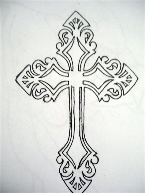 black cross tattoo designs 17 cross by animeboy1321 on tribal cross by