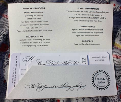 sle wedding brochure airline ticket invitation exle mughals