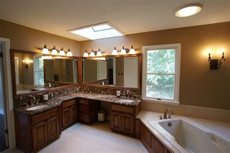 His And Hers Bathroom His And Hers Bathroom Traditional Bathroom St Louis