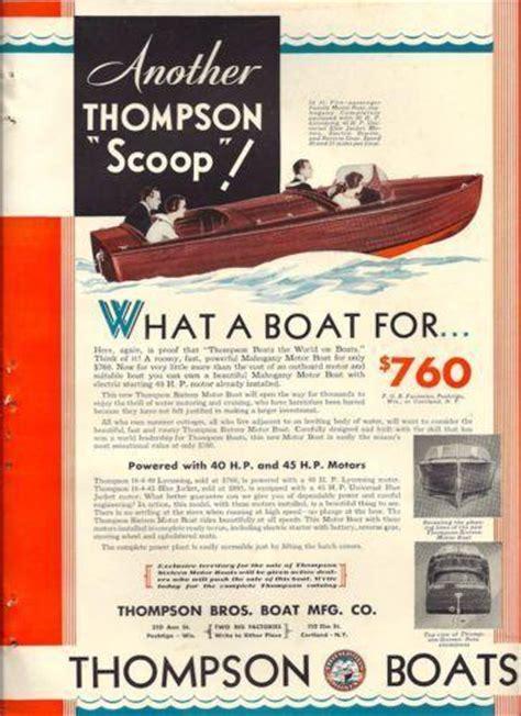 google ebay boats thompson boat ebay