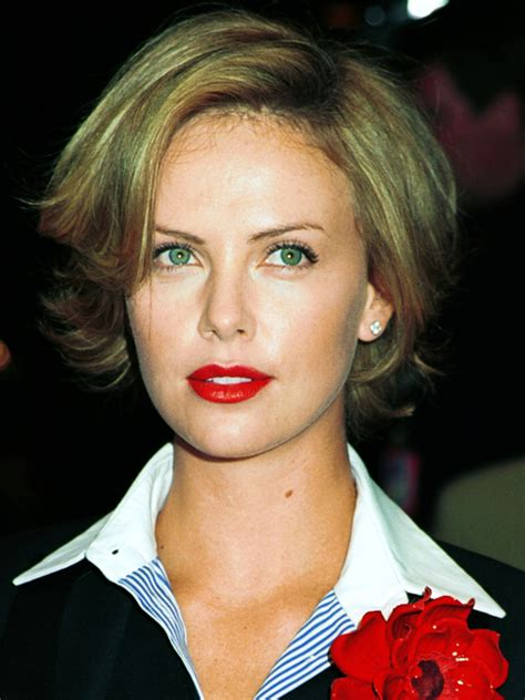 pictures charlize theron hair styles and colors through pictures charlize theron hair styles and colors through