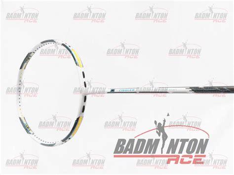 Raket Badminton Apacs Z Ziggler White Original apacs z ziggler white badminton racket free string grip