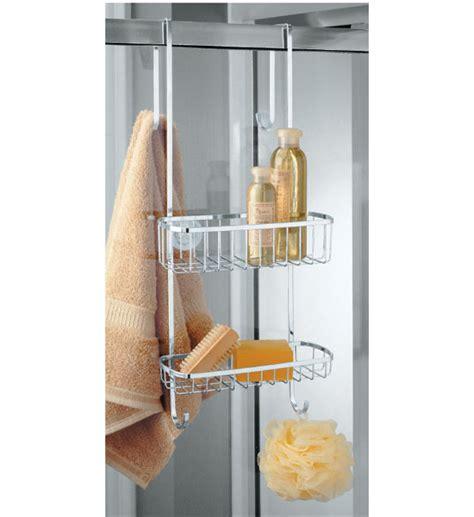 Door Shower Organizer Stainless Steel Shower Door Organizer In Shower Caddies