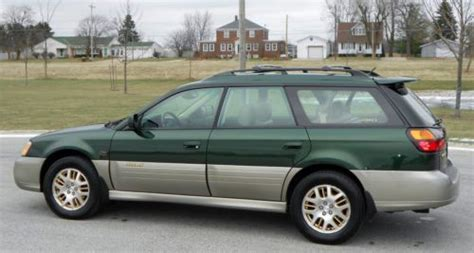purchase used 2003 subaru outback ll bean edition clean every option look repair no reserve