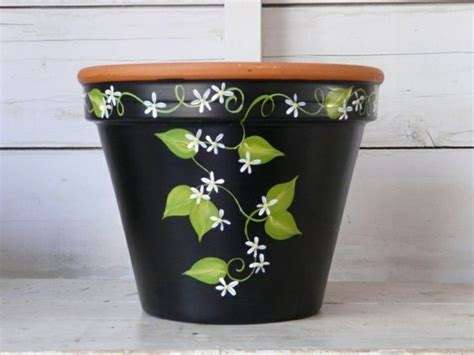 pot designs ideas spare bedroom design ideas flower pot paint idea painting