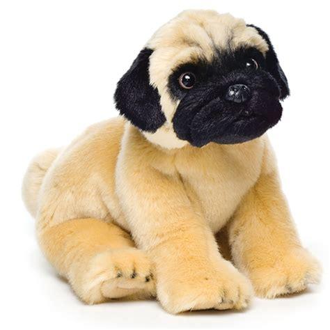 lifelike puppy lifelike stuffed pug puppy nat jules stuffed safari