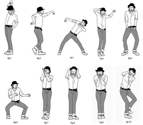 easy swing dance moves infographics that will teach you to dance others