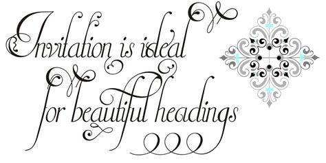 Wedding Font Pack by Invitation Script Pack 4 Fonts By Int Font Bundles