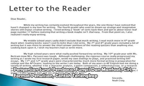 format penulisan artikel koran pengertian surat pembaca fungsi dan manfaat ciri format