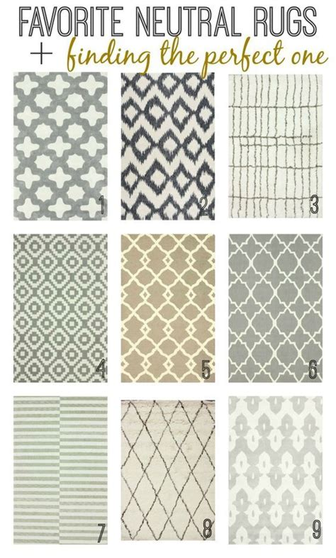 Farmhouse Style Kitchen Rugs by 25 Best Ideas About Neutral Rug On Living