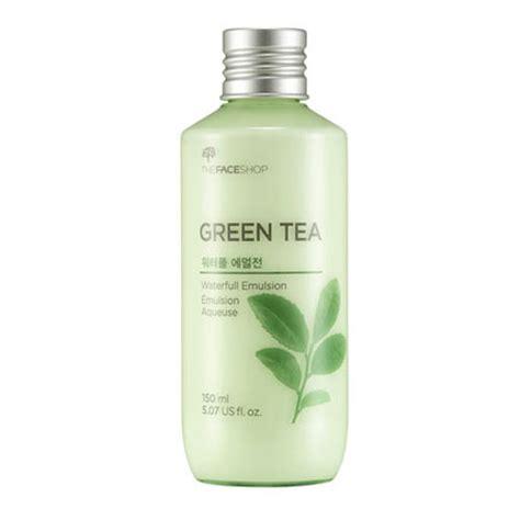 Moisturizer Green Tea Asli Apotek the shop green tea waterfull emulsion the shop lotion and emulsion shopping