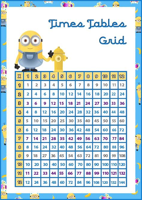 printable times tables grid times tables grid printable driverlayer search engine