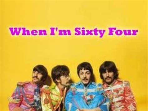 Beatles Birthday Card When I M 64