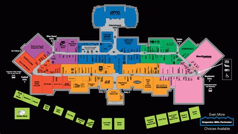concord mills map concord mills map of stores afputra