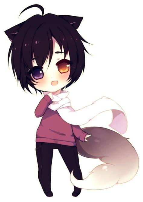 anime chibi wolf chibi wolf boy