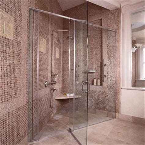 Triangle Shower Stall Spa Shower Shower Heads And Shower Panels On