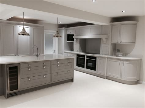 dark grey shaker cabinets shaker kitchen in combination of french grey dark and mid
