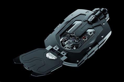 the expensive urwerk ur 1001 titan pocket can run