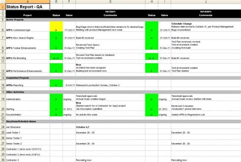 weekly activity report template 22 free word excel ppt pdf