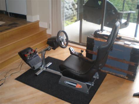 Garage For Rv g35 racing seat simulator with playstation 3 joe s
