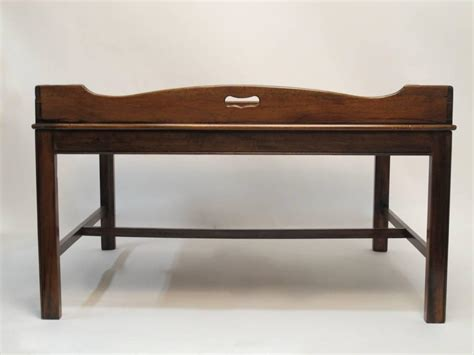 tray coffee table georgian mahogany butler s tray coffee table for sale at
