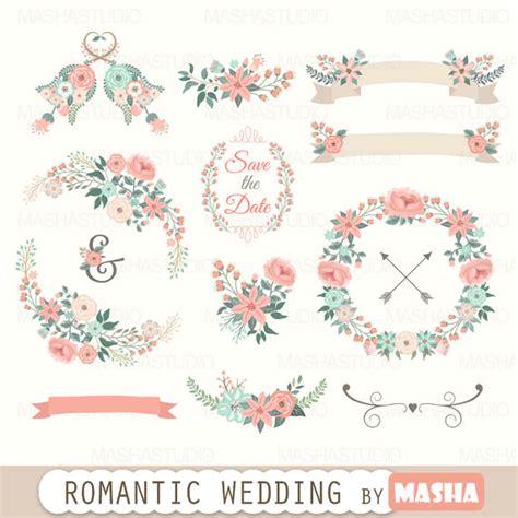 Hem Batik Flores floral clipart quot wedding clipart quot with floral