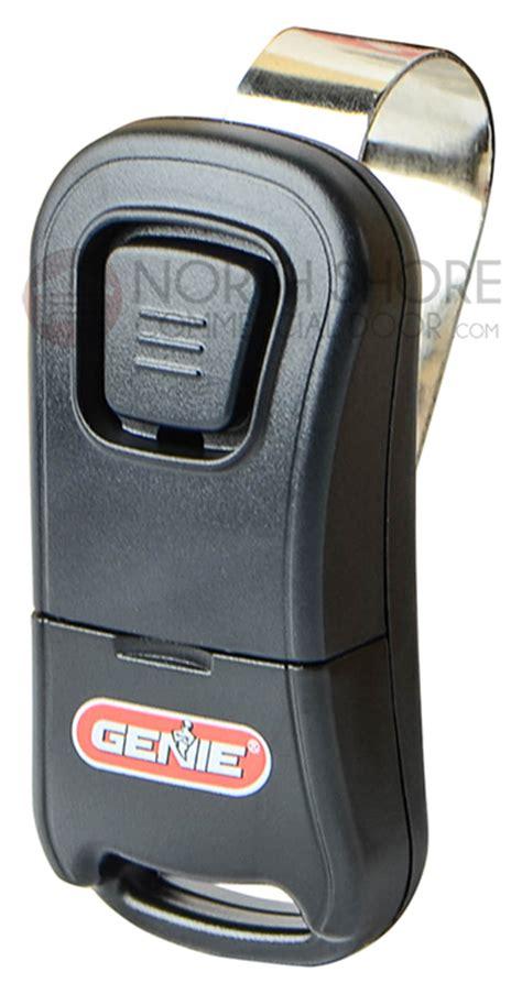 genie one button garage door remote genie intellicode git 1 one button remote 33069r