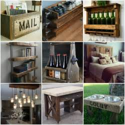 trendy reclaimed wood furniture  decor ideas