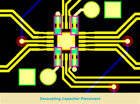 decoupling capacitors placement decoupling capacitor placement guidelines 28 images learnemc decoupling for boards without