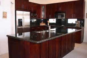 Cherry Cabinet Kitchens White And Cherry Shaker Kitchen Cabinets In Minneapolis Usa