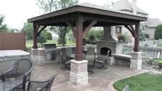 Grill Gazebo Plans by Choosing Bbq Grill Gazebo Home Building Furniture And
