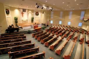 Baptist Church Interior Design Billingsley Architecture Churches