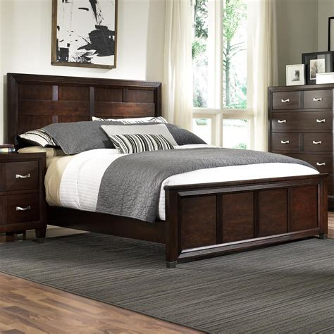 bed headboard footboard broyhill furniture eastlake 2 panel headboard and low profile footboard bed baer s