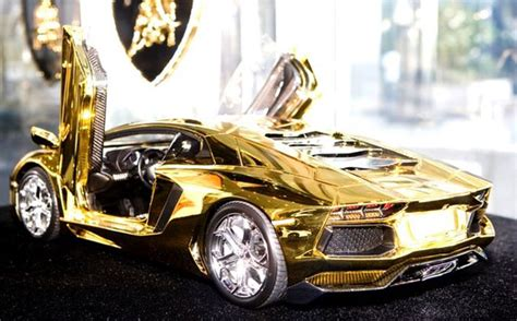 Where Was The Lamborghini Made Lamborghini Made Of Gold